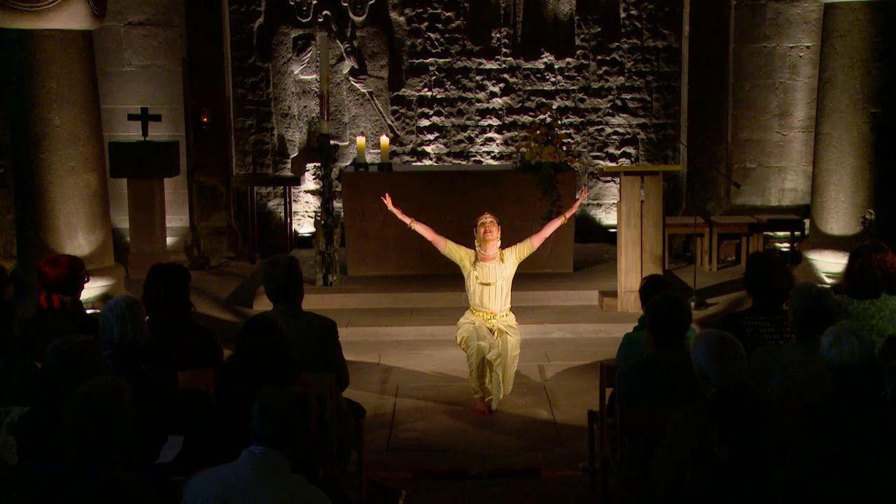 Tanzveranstaltung: 21. Mai 2014, zu Werken von Johann Sebastian Bach in der Kirche Sankt Aurelius, Calw-Hirsau, an der Rohlf-Orgel: KMD Karl Echle