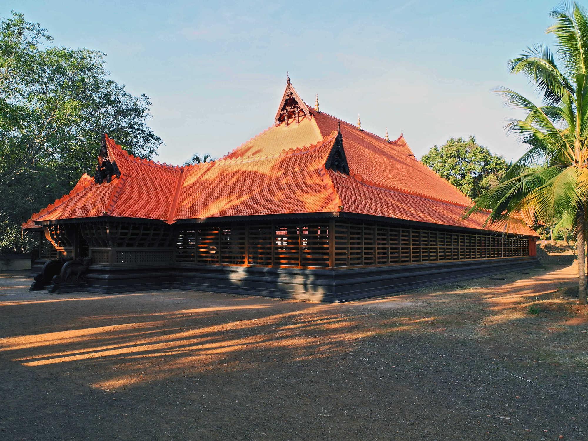 Zu Gast in: Kalamandalam Deemed University of Art and Culture, Kerala, Süd-Indien, Januar 2012