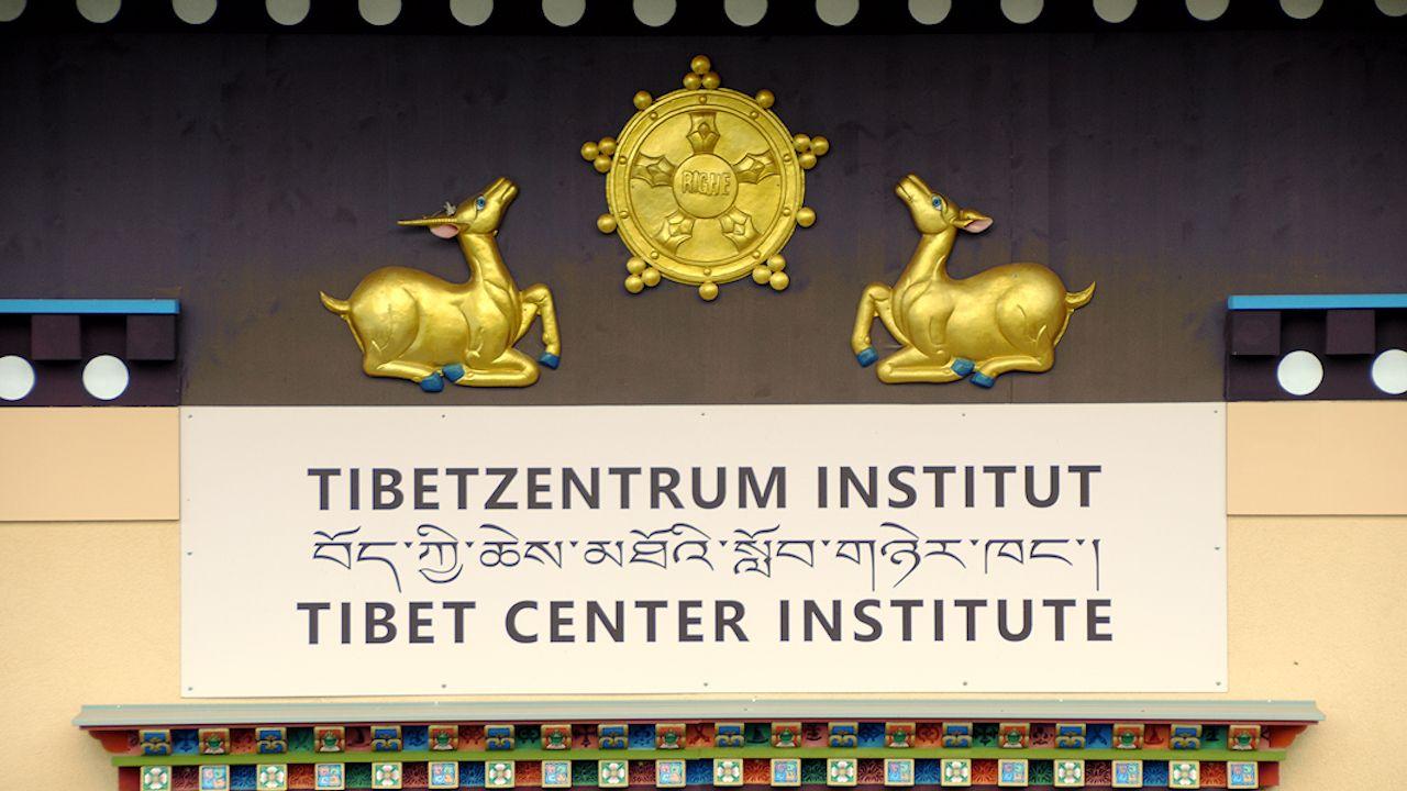 Zu Gast im Tibetzentrum Knappenberg, Österreich, zum 10-jährigen Jubiläum des Instituts. Ehrengast war die Schwester seiner Heiligkeit des 14. Dalai Lama. - 20. September 2019